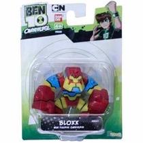 Mini Boneco Ben 10 Bloxx Sunny - Original