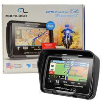 Gps Para Moto Tracker Multilaser Bluetooth + Brinde Gp022 Nf