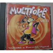 Cd Multiokê Volume 10 / Frete Gratis