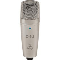 Microfone Condensador C-1u Usb Behringer