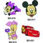Coleção Bordados Disney Para Janome E Brother