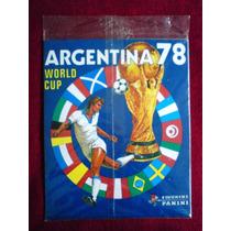 Album World Cup Copa Do Mundo Argentina 1978 Panini Completo