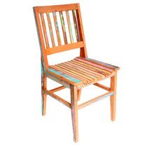 Cadeira Ana Hickman Madeira Maciça Demolição Peroba Rosa