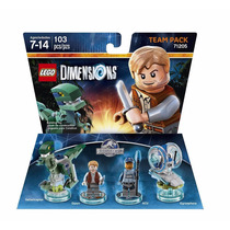Novo Lacrado Lego Dimensions Pack Jurassic World Team Pacote