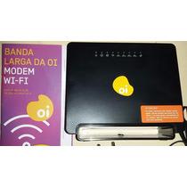 Modem Roteador Wifi Sem Fio. Sagemcom 2704n Velox