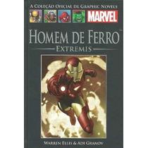 Coleção Graphic Novels N* 21 Homem De Ferro Extremis