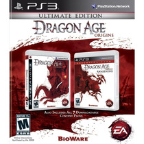 Jogo Lacrado Dragon Age Origins Ultimate Edition Para Ps3