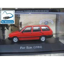 Coleção Carros Inesquecíveis Do Brasil Altaya - Fiat Elba 86