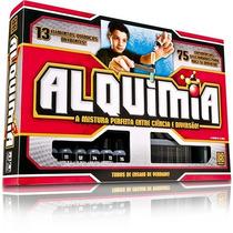 Jogo Alquimia 13 Elementos Quimicos C/ 75 Experiências- Grow