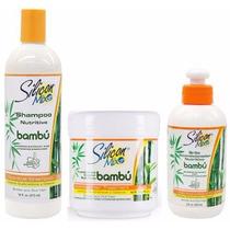 Silicon Mix Bambu Kit Shampoo473ml+máscara 450g+leave-in236m