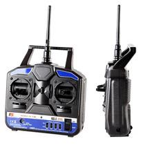 Rádio Controle Fly Sky Fs-t4 2.4ghz 4 Canais Alça Gratis
