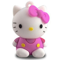Pen Drive Usb 4gb Personalizado Feminino Gata Hello Kitty