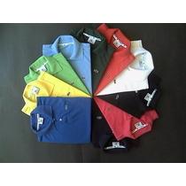 Camiseta Camisa Infantil Lacoste Menino Menina - 2 A 10 Anos