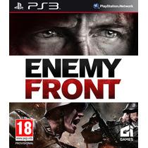 Enemy Front Ps3 + Dlc Multiplayer Map Pack + Jogo Brinde