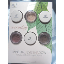 Kit 3 Sombras Elf Mineral Eye Shadows