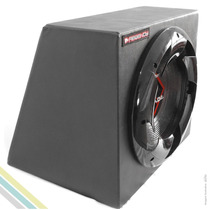 Caixa Selada 30l Subwoofer 12 Polegadas 350w Rms 4 Ohms