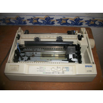 Impressora Matricial Epson Lx 300 Perfeita + Lindo Brinde
