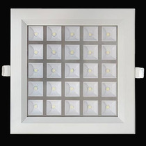 Painel Plafon Luminaria Led Embutir 25w Spot Downlight Sanca