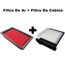 Filtro Ar + Filtro Ar Cabine Tiida 1.8 16v 2008 / 2013