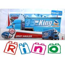 Cars Disney Gray Hauler - Caminhão Do Rei - Mattel