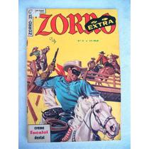 Zorro ( Extra ) Nº 33 - Janeiro De 1965 - Ebal