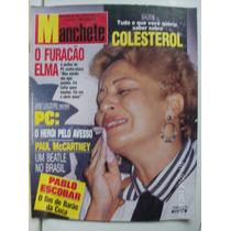 Revista Manchete 2175 Paul Mccartney Pablo Escobar Collor Pc