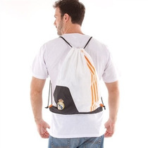 Sacola Para Ginástica Adidas Real Madrid Gb - Branco