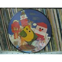 Lp Feliz Natal Picture Disc Raridade