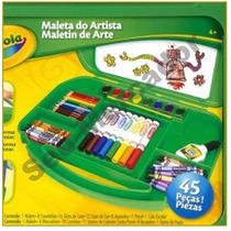 Maleta Crayola Criança Artista Para Pintura Desenho 45 Peças
