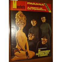Revista Manchete Antiga Anos 60 Carnaval Vintage Retrô