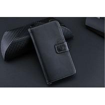 Capa Premium Case Carteira Ipod Touch 5 De Couro Legitimo