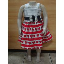 Vestido 1 Ao 3 Turma Da Malha Ref 63859