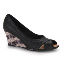 Peep Toe Anabela Piccadilly 362003 Maico Shoes