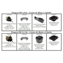 Todos Os Coxins De Motor E Câmbio Peugeot 206 1.6 16v, Nota