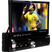 Dvd Tft Retratil Booster 9950 7 Polegad Tv Digital Bluetooth