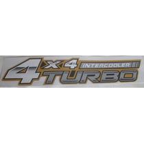 Adesivo Toyota Hilux 4x4 Turbo Intercooler