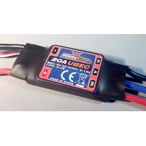 Esc Speed Control Hobbyking 20a-25a Com Ubec 3a Brushless