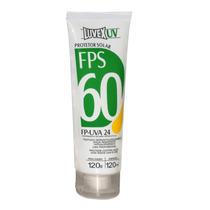 Creme Protetor Solar Luvex Fator 60 Bisnaga 120ml Promoção