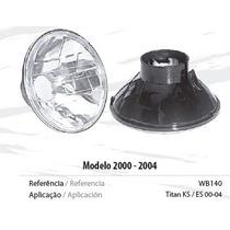 Bloco Óptico Farol Cg Titan 125 Ano 2000/2001/2002/2003/2004