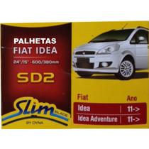 Palhetas Slim Blade Original Dyna Sd2 Fiat Idea 2011 >