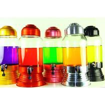 Kit Com 3 Suqueira Colorida De Aluminio De 3 Litros