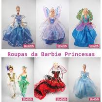 Vestidos De Luxo * Roupinhas Para Boneca Barbie + Sapatinhos