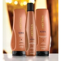 Kit Aneethun Kera System 3 Peças 250ml * Kiss Perfumaria *