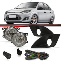 Kit Neblina Fiesta Sedan Hatch 2014/2011 Farol Grade Relê
