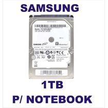 Hd Notebook 1tb Samsung Sata 5400rpm St1000lm024