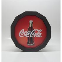 Luminoso Luminária Coca Cola De Madeira Para Bar, Barzinho.
