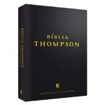 Bíblia Thompson - Capa Vinil Preta -