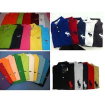 Kit 5 Camisas Polo + 5 Calças Jeans Atacado Revenda