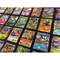 Lote Ex - 200 Cartas Pokemon, Ex Garantida ( Tcg ) + Brinde