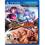 Street Fighter X Tekken Psvita Ps Vita Lacrado Novo E-sedex